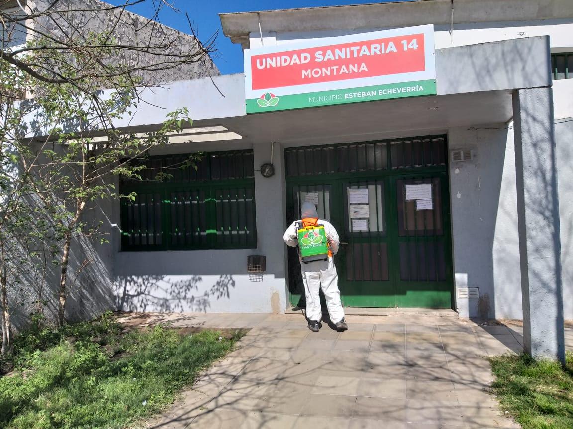 Informe N° 652 | OPERATIVOS DE DESINFECCIÓN EN ESTEBAN ECHEVERRÍA