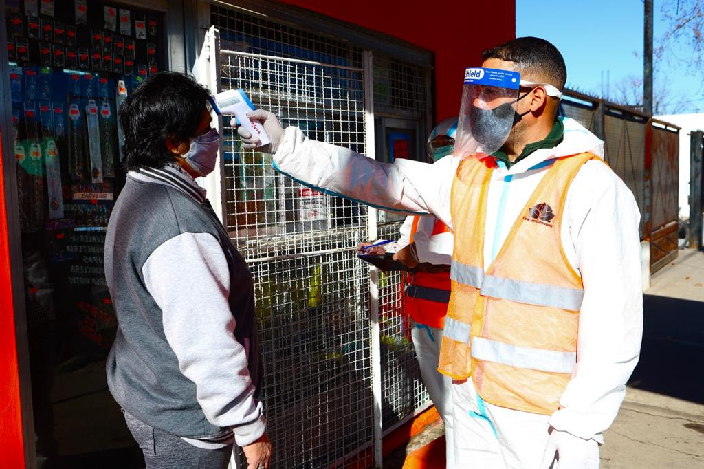 Informe N° 608 | MÁS DE 2200 VECINOS CONTROLADOS EN EL PLAN DETECTAR