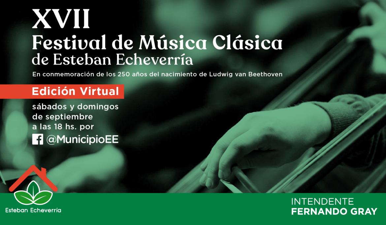 XVII FESTIVAL DE MÚSICA CLÁSICA DE ESTEBAN ECHEVERRÍA