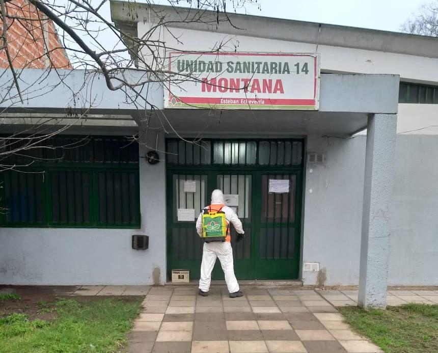 Informe N° 619 | OPERATIVOS DE DESINFECCIÓN EN ESTEBAN ECHEVERRÍA
