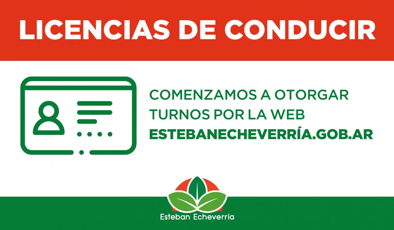 EL MUNICIPIO DE ESTEBAN ECHEVERRÍA ASIGNA TURNOS PARA LICENCIAS DE CONDUCIR