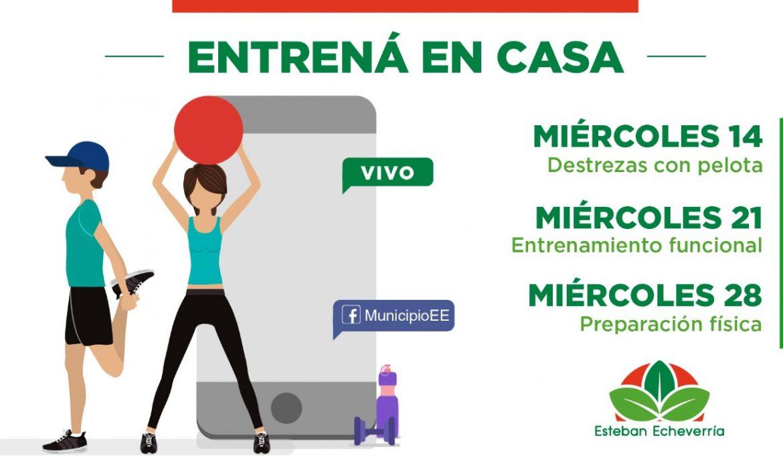 Informe N° 671   ENTRENÁ EN CASA