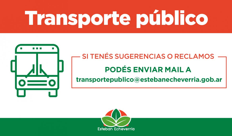 NUEVOS MEDIOS DE COMUNICACIÓN PARA RECLAMOS DE TRANSPORTE PÚBLICO DE PASAJEROS