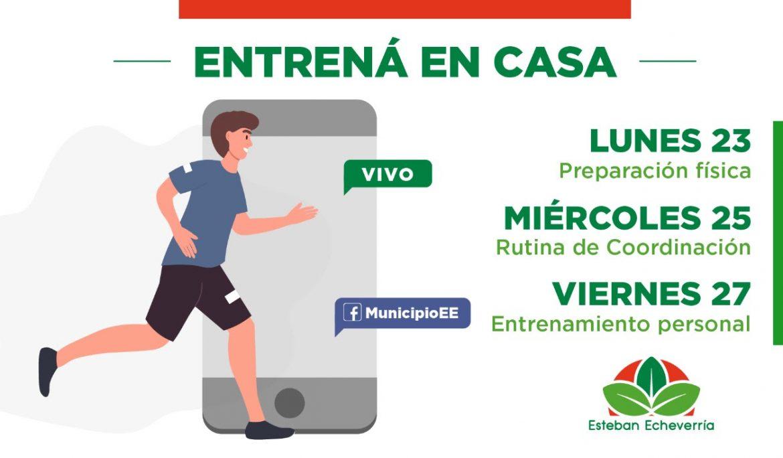 ENTRENÁ EN CASA