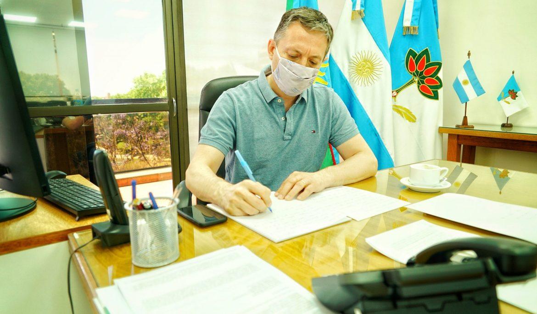 FERNANDO GRAY EN VIDEOCONFERENCIA CON AXEL KICILLOF