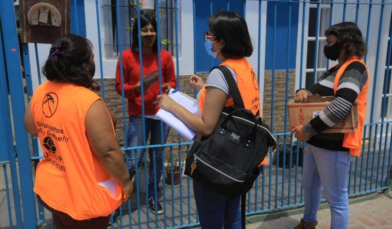 AVANZA EL PLAN DE ABORDAJE TERRITORIAL CONTRA EL DENGUE