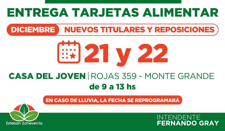 ENTREGA DE REMANENTES A BENEFICIARIAS Y BENEFICIARIOS DE LA TARJETA ALIMENTAR
