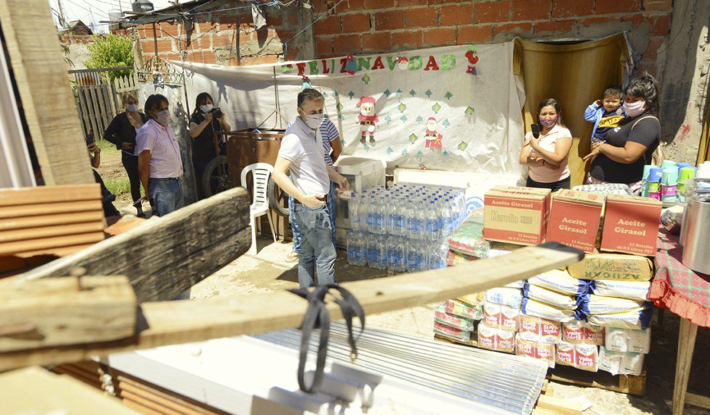 FERNANDO GRAY VISITÓ INSTITUCIONES AFECTADAS POR LA TORMENTA