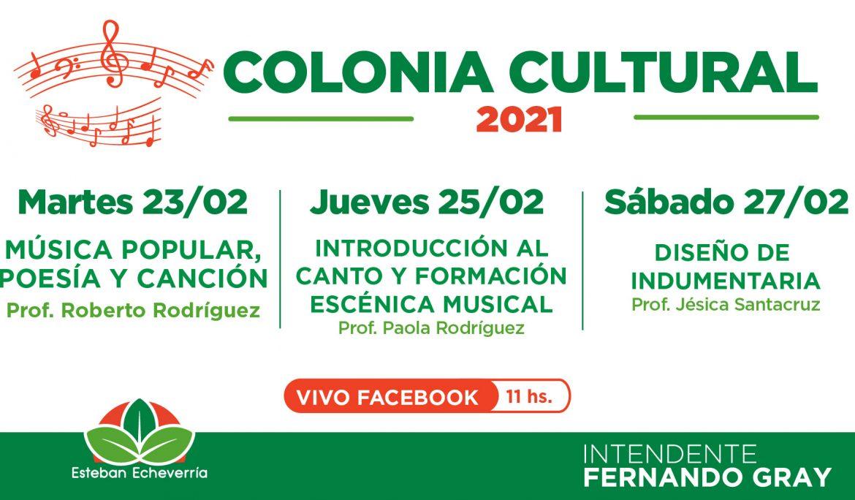 NUEVAS CLASES DE LA COLONIA CULTURAL VIRTUAL