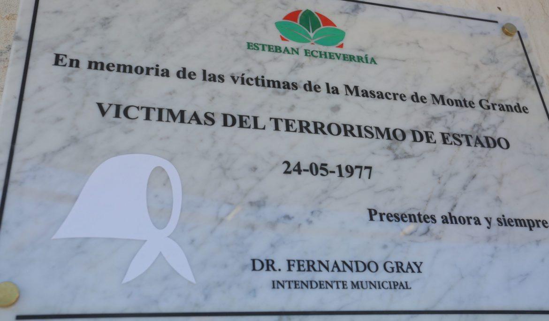 A 45 años del inicio del último golpe militar – 24 DE MARZO: ACTO CONMEMORATIVO POR LA MASACRE DE MONTE GRANDE