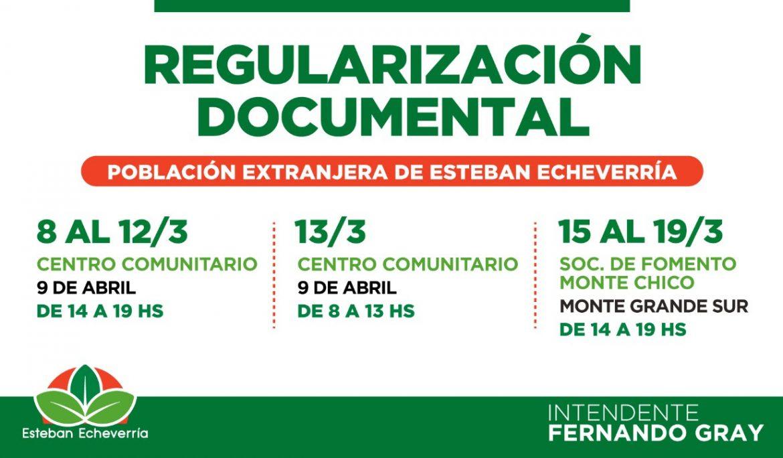 CONTINÚA EL PLAN DE REGULARIZACIÓN DOCUMENTAL PARA RESIDENTES EXTRANJEROS