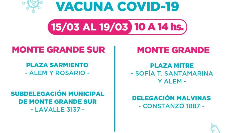 PREINSCRIPCIÓN PARA LA VACUNA CONTRA EL COVID-19 EN ESTEBAN ECHEVERRÍA