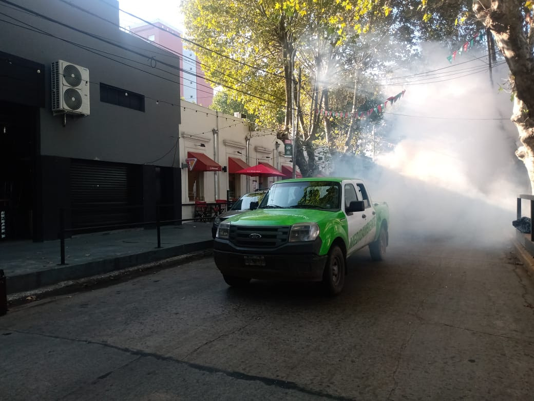 NUEVOS OPERATIVOS DE FUMIGACIÓN EN MONTE GRANDE