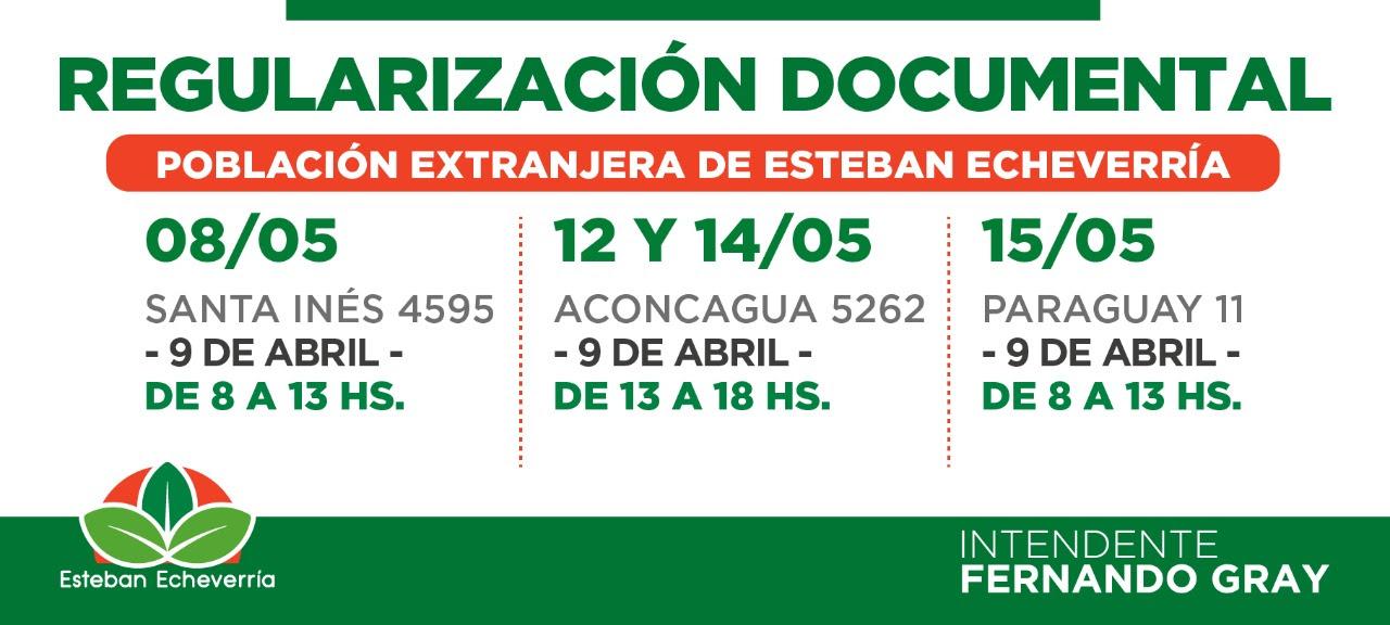 AVANZA EL PLAN DE REGULARIZACIÓN DOCUMENTAL PARA RESIDENTES EXTRANJEROS EN 9 DE ABRIL