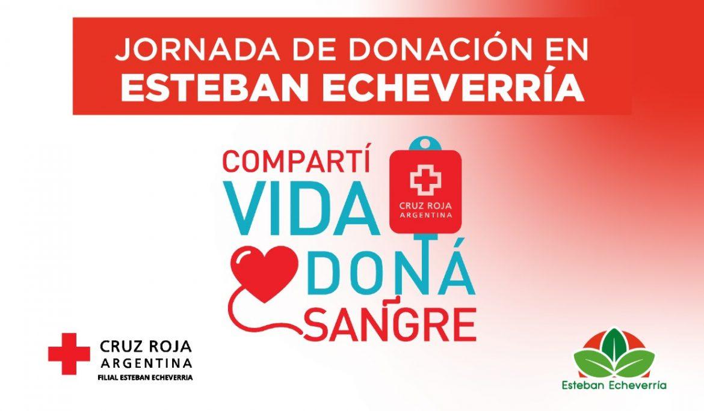 JORNADA DE DONACIÓN DE SANGRE EN ESTEBAN ECHEVERRÍA