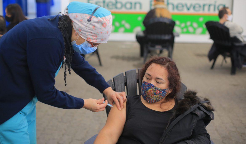 MÁS DE 62 MIL PERSONAS SE VACUNARON CONTRA EL COVID-19 EN ESTEBAN ECHEVERRÍA