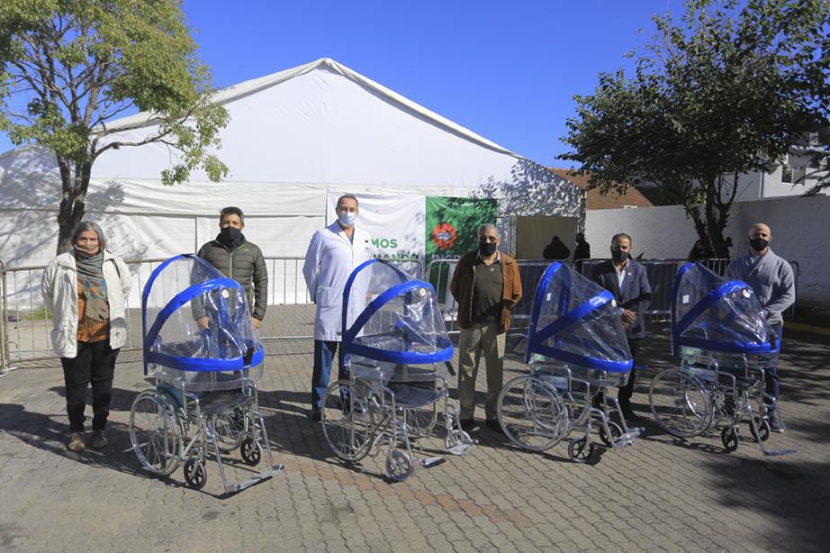 NUEVAS DONACIONES PARA EL HOSPITAL SANTAMARINA