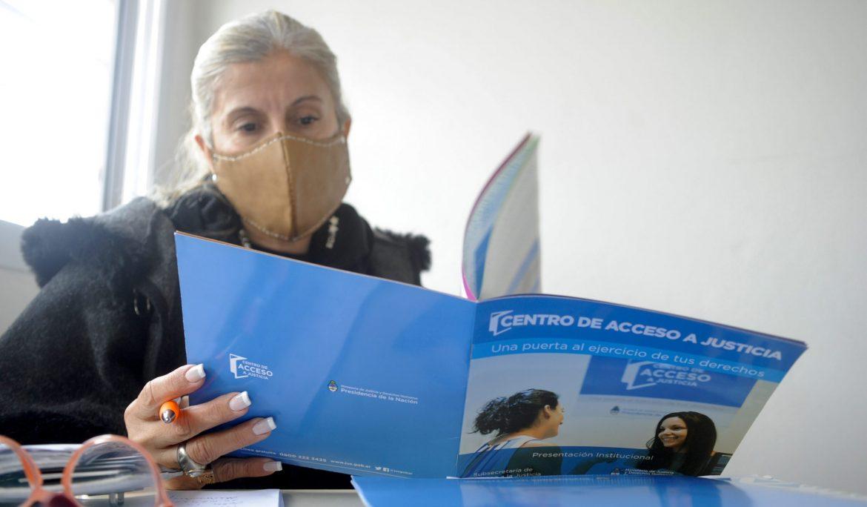 CONTINÚA LA ATENCIÓN DEL CENTRO DE ACCESO A LA JUSTICIA EN ESTEBAN ECHEVERRÍA