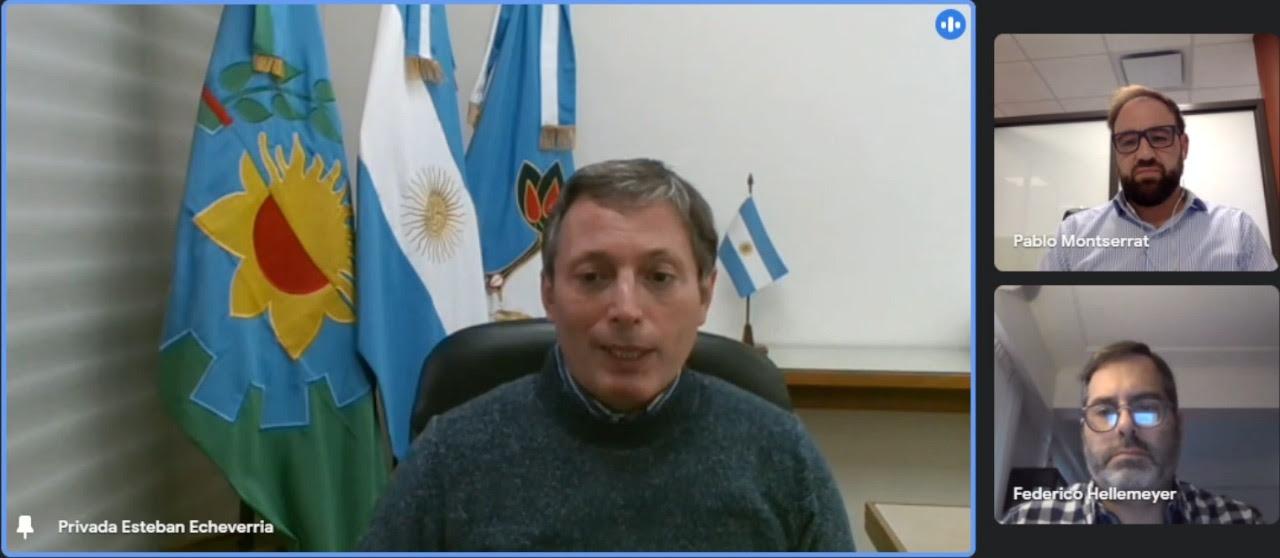 FERNANDO GRAY SE REUNIÓ CON EL PRESIDENTE DE LA ASOCIACIÓN DE FÁBRICAS ARGENTINAS TERMINALES DE ELECTRÓNICA