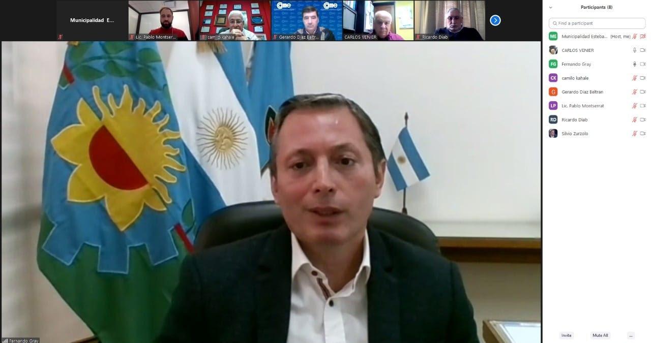 FERNANDO GRAY SE REUNIÓ CON MIEMBROS DE LA CONFEDERACIÓN ARGENTINA DE LA MEDIANA EMPRESA (CAME)