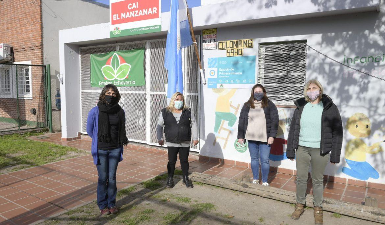 VISITAS A INSTITUCIONES MUNICIPALES DE 9 DE ABRIL