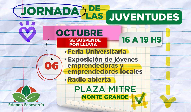 JORNADA DE LAS JUVENTUDES EN ESTEBAN ECHEVERRÍA