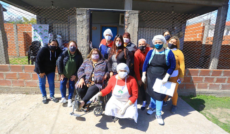 EL MUNICIPIO ENTREGÓ MATERIALES Y EQUIPAMIENTO A INSTITUCIONES DE 9 DE ABRIL