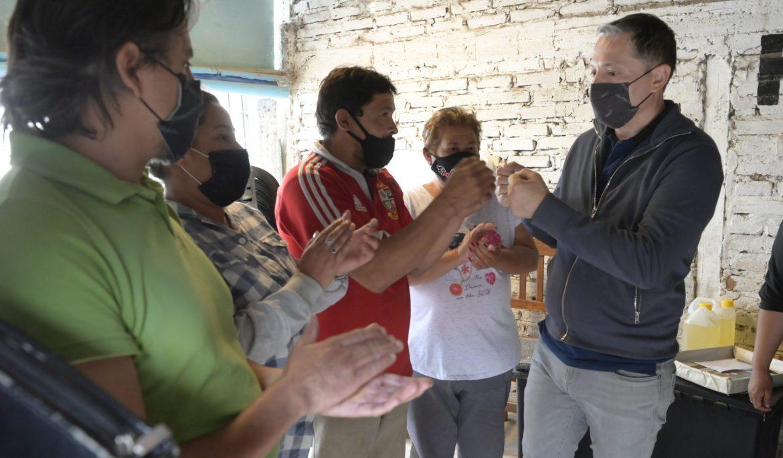 FERNANDO GRAY EN UNA NUEVA JORNADA DE RECORRIDA DEL BARRIO SANTA CATALINA