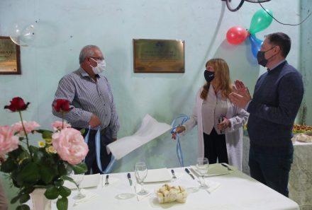 """FERNANDO GRAY EN EL 15° ANIVERSARIO DE LA SOCIEDAD DE FOMENTO """"SAN CARLOS BORROMEO"""""""