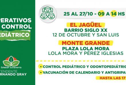 CONTROLES DE SALUD PEDIÁTRICOS Y CLÍNICOS