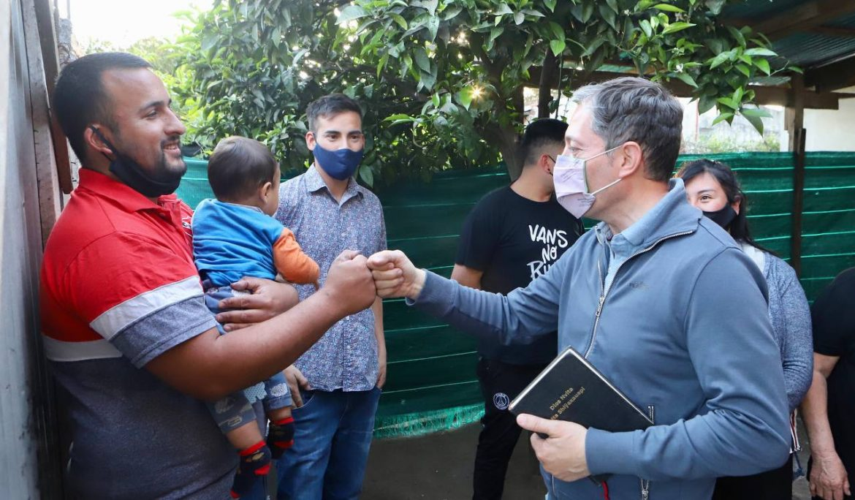 FERNANDO GRAY VISITÓ EN SU ANIVERSARIO LA IGLESIA EVANGÉLICA UNIDA PALABRA DE DIOS